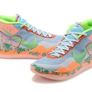 "Nike Zoom KD12 ""Fantasy Color"" Orange Men's Basket"